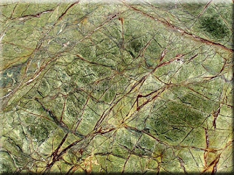 Rain Forest Green Marble : Indian marble bangalore dealer